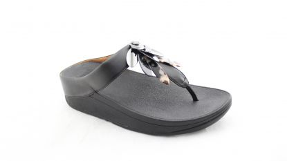 Fitflop Conga Dragonfly toe post black
