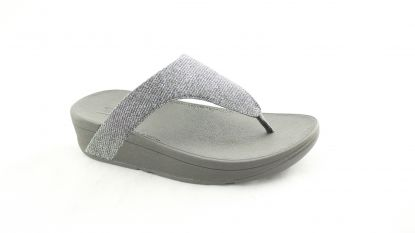 Fitflop Lottie Glitzy toe pewter