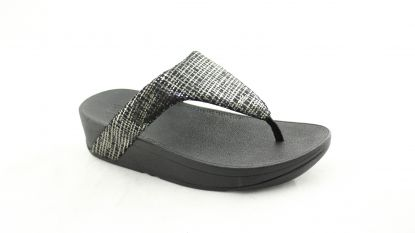 Fitflop Lottie Chain print toe black