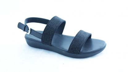 Fitflop Barra Crystalled Sandal Black